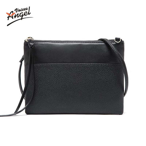 Angel Voices Tassel Patchwork Pu Handbags Women Jy022
