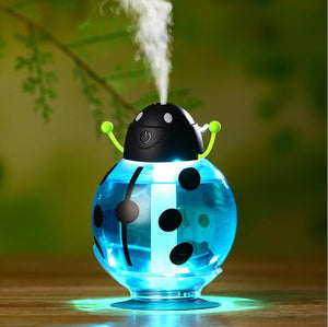 New Beatles Ultrasonic Humidifier USB Car Humidifier Mini Aroma Essential Oil Diffuser Aromatherapy Mist Maker Home Office