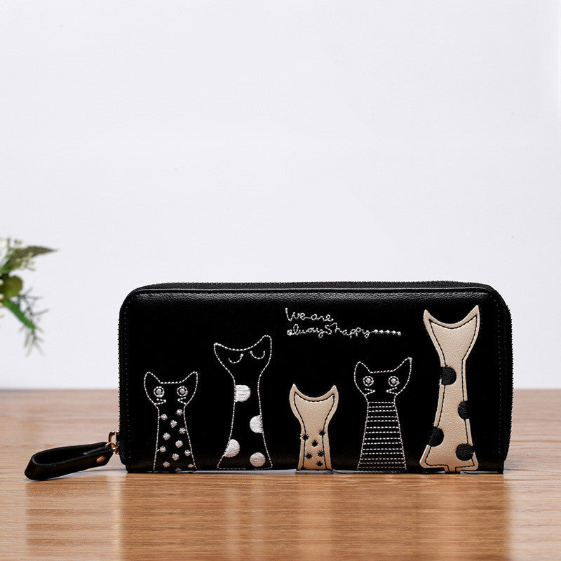 Youyou Mouse Animal Prints Pu Wallet Women Ww60265