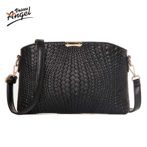 Angel Voices Sequined Wave Pu Handbags Women Jy31