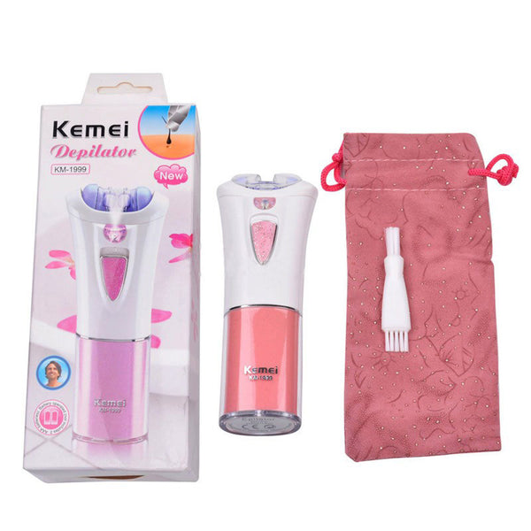 Depilatory Electric Female Epilator Women Hair Removal for Facial Body Armpit Underarm Leg Depilador Depilation battery power