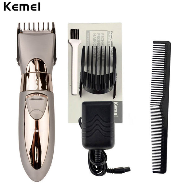 New Rechargeable Waterproof Hair Clipper Beard Electric Hair Trimmer Shaver Body Hair Mustache Shaving Trimmer RCS09_8595
