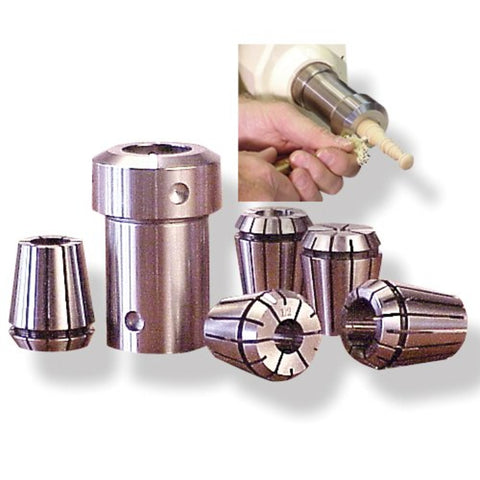 "Beall 1-1/4"" Collet Chuck Set"