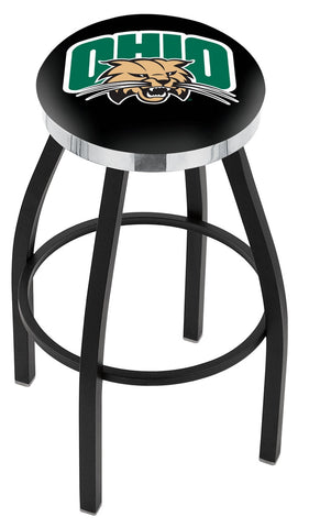 Ohio Bobcats Contempo III Bar Stool 25""