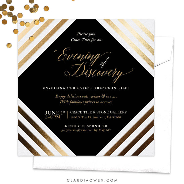 Work Function Party Invitation, Gala Night, Work Event Invitation, Professional Invitation, Corporate Invitation, Business, Awards Night