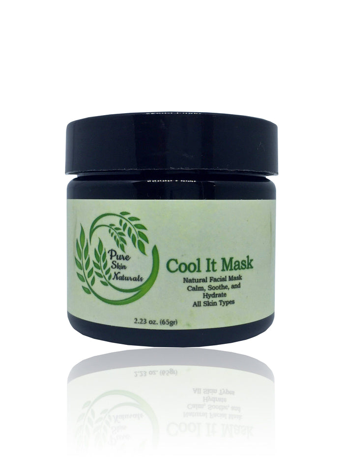 Cool It Mask is a natural mask to calm, soothe and hydrate for all skin types