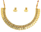 Touchstone Wonderful Antique Necklace Set- DGNS-302-01---Y