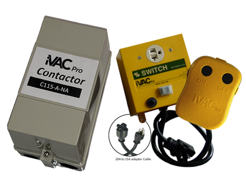 iVAC Pro Switch HP package with Remote and MRT Feature (Minimum Run Time)