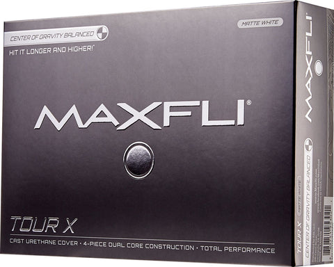 Maxfli Tour X Total Performance Urethane Golf Balls