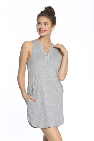 Leslie Wide Tank Chemise - Sales Rack