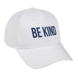 Be Kind Hat- White