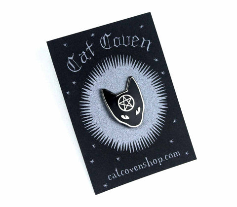 SALE // Cat Coven: Silver Pin