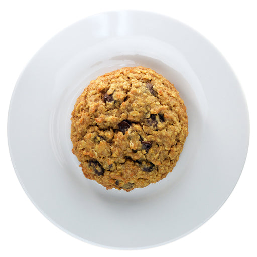 Dark Chocolate Oatmeal Cookie - Top view