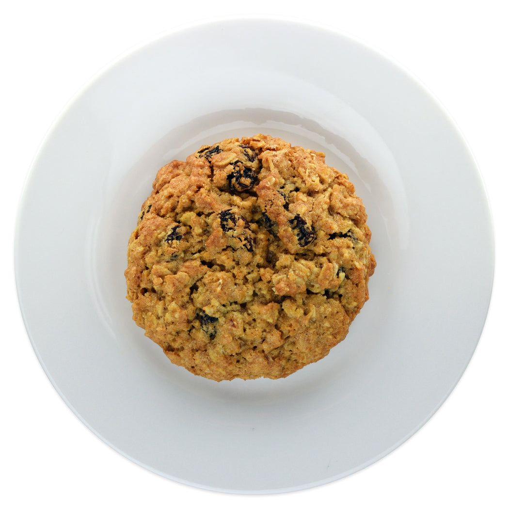 Oatmeal Raisin Cookie - Top view