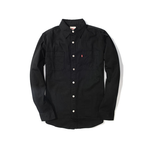 Levi's Pure Black Men's Long Sleeve Shirt LVS-381000CC
