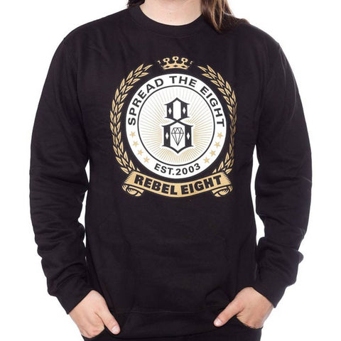 Rebel8 Spread 8 Crewneck Sweater