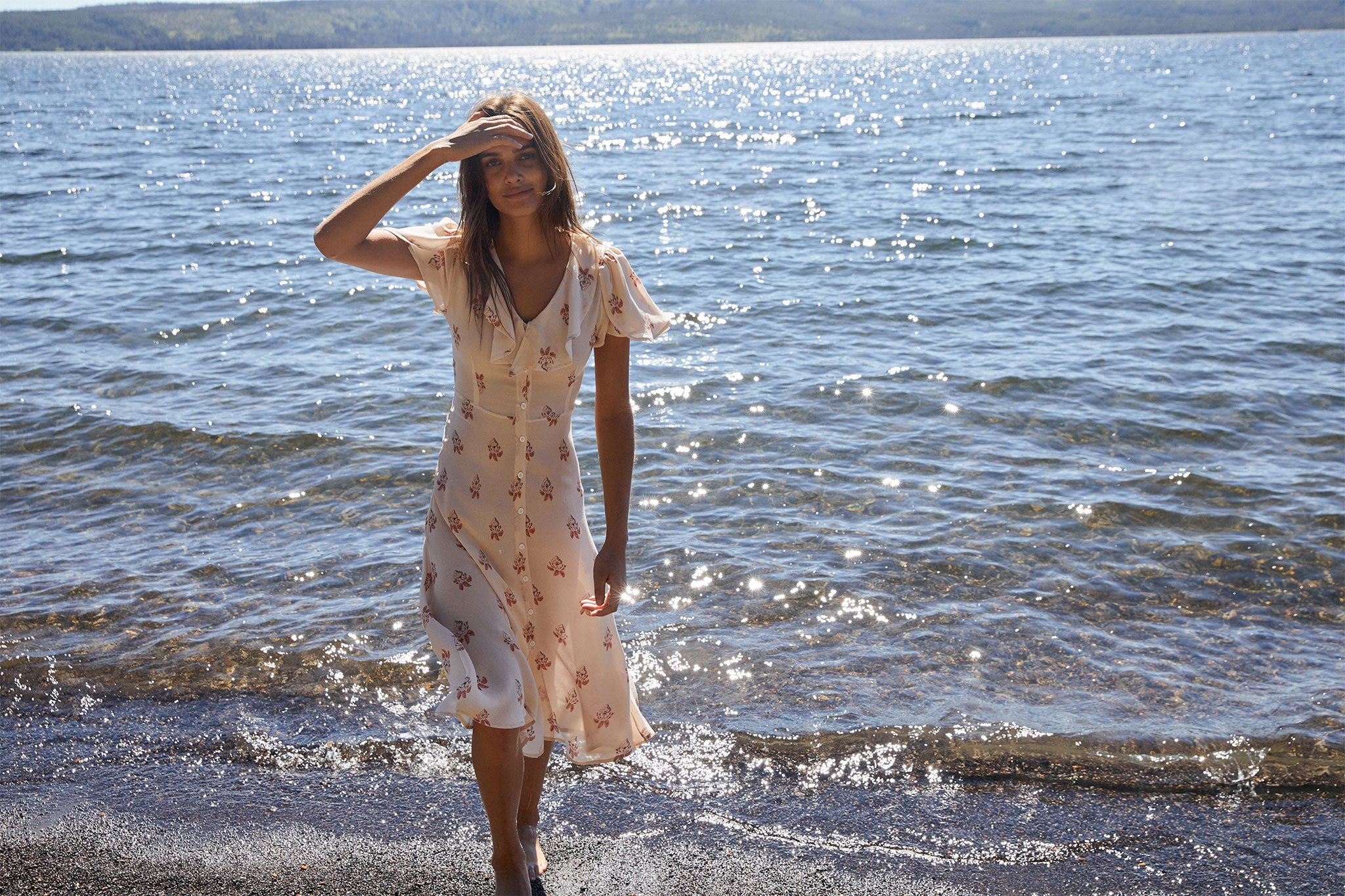 The Daisy Dress | Begonia Leaf
