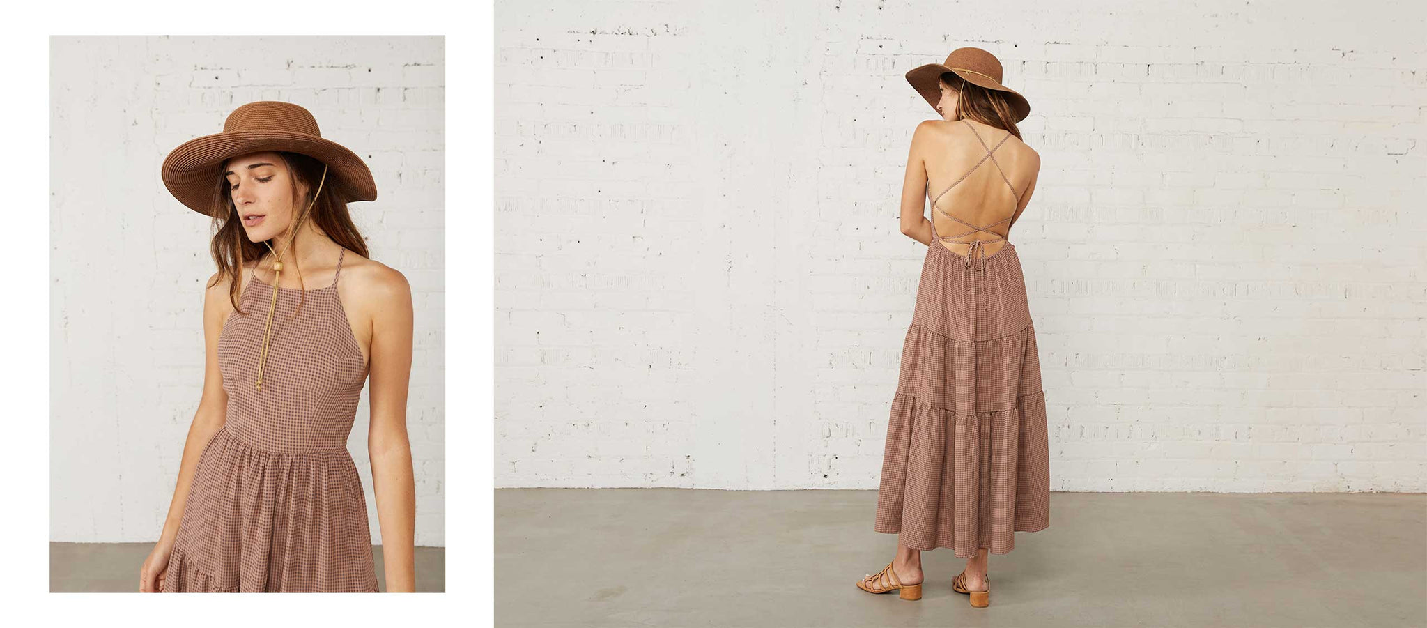 The Delphine Dress | Coffee