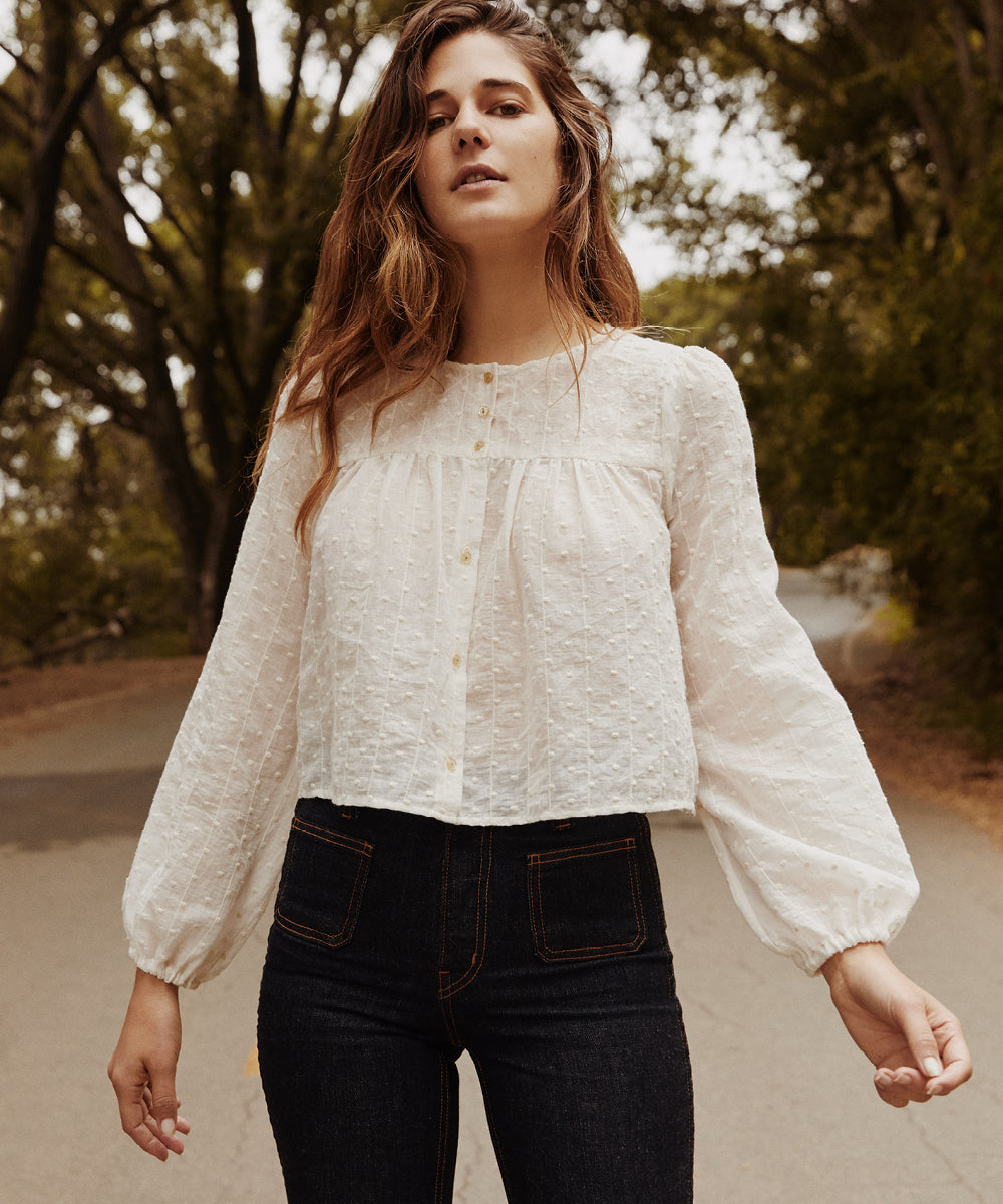 The Jaime Top | Pearl Embroider
