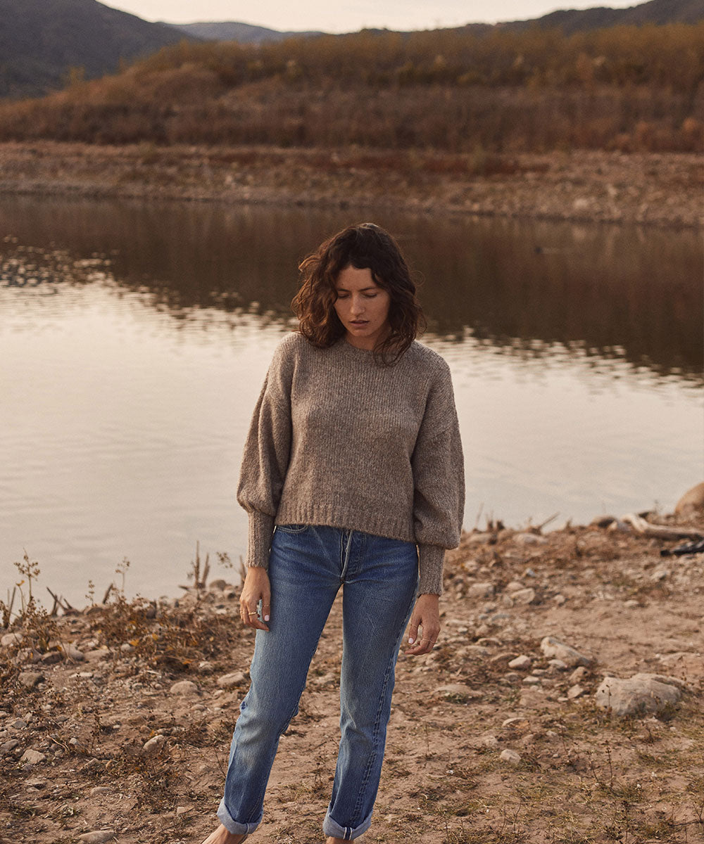The Jane Sweater| Grey