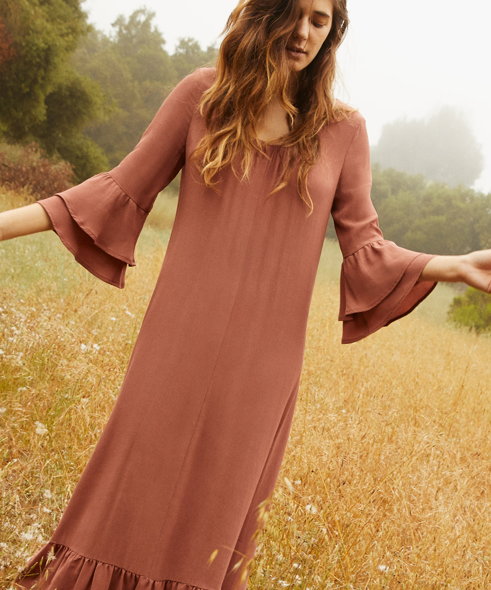 The Rowe Dress | Clay