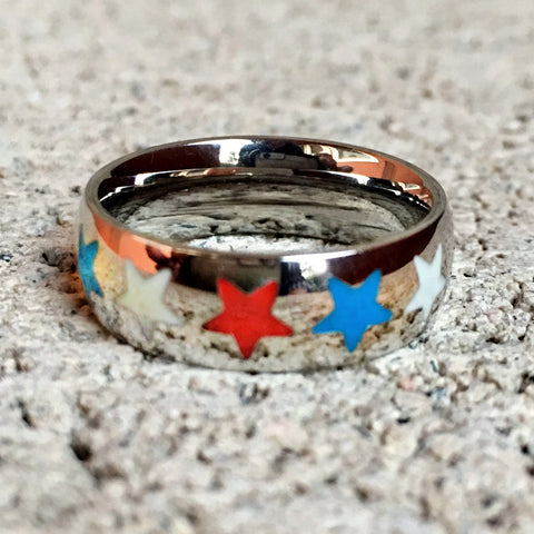 Patriot Stars Ring