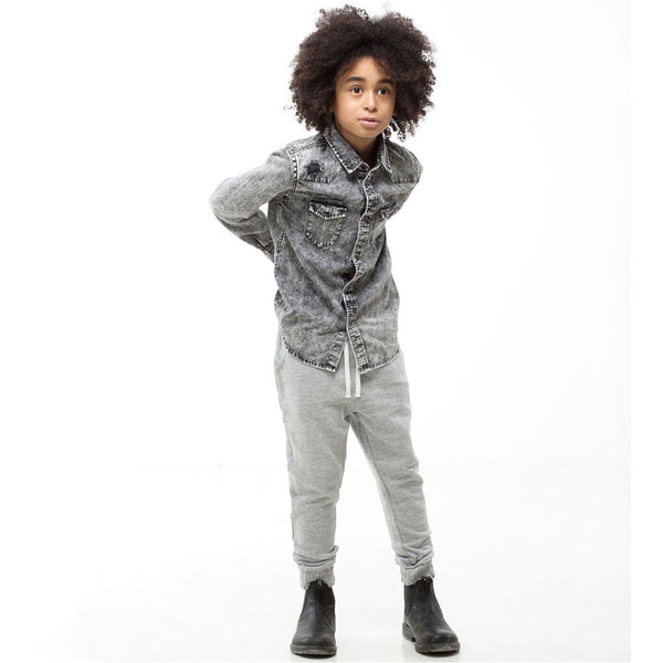 Drest Pants, Grey Melange