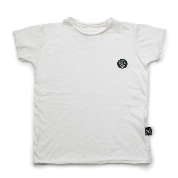 Solid T-shirt, White