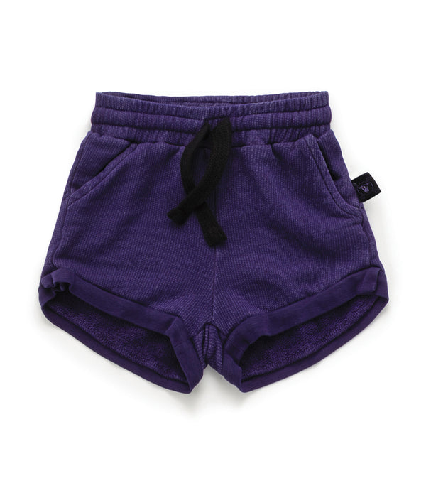 Deep Purple New Gym Sweat Shorts