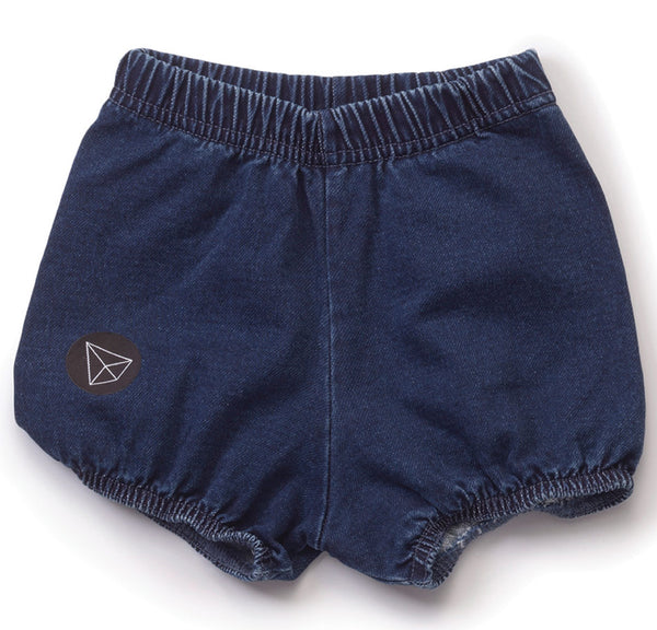 Denim Yoga Shorts, Denim