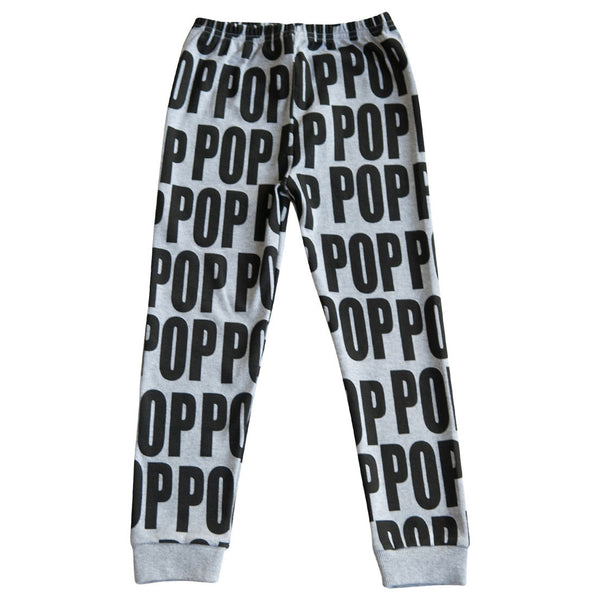 Leggings Pop, Grey