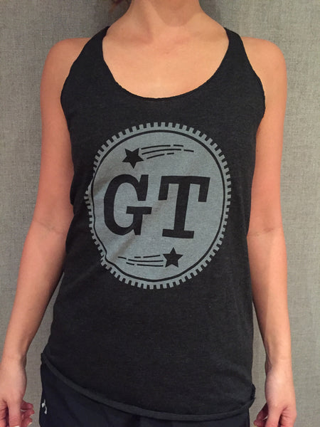 GT Circle Logo Women's Tank (Dark Gray)