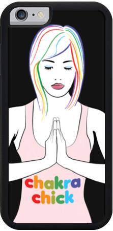 Chakra Chick iPhone Case