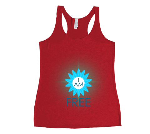 I Am Free Tank Top - 5th Chakra