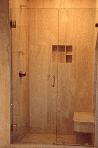 Shower Enclosure - Door with Side Panel