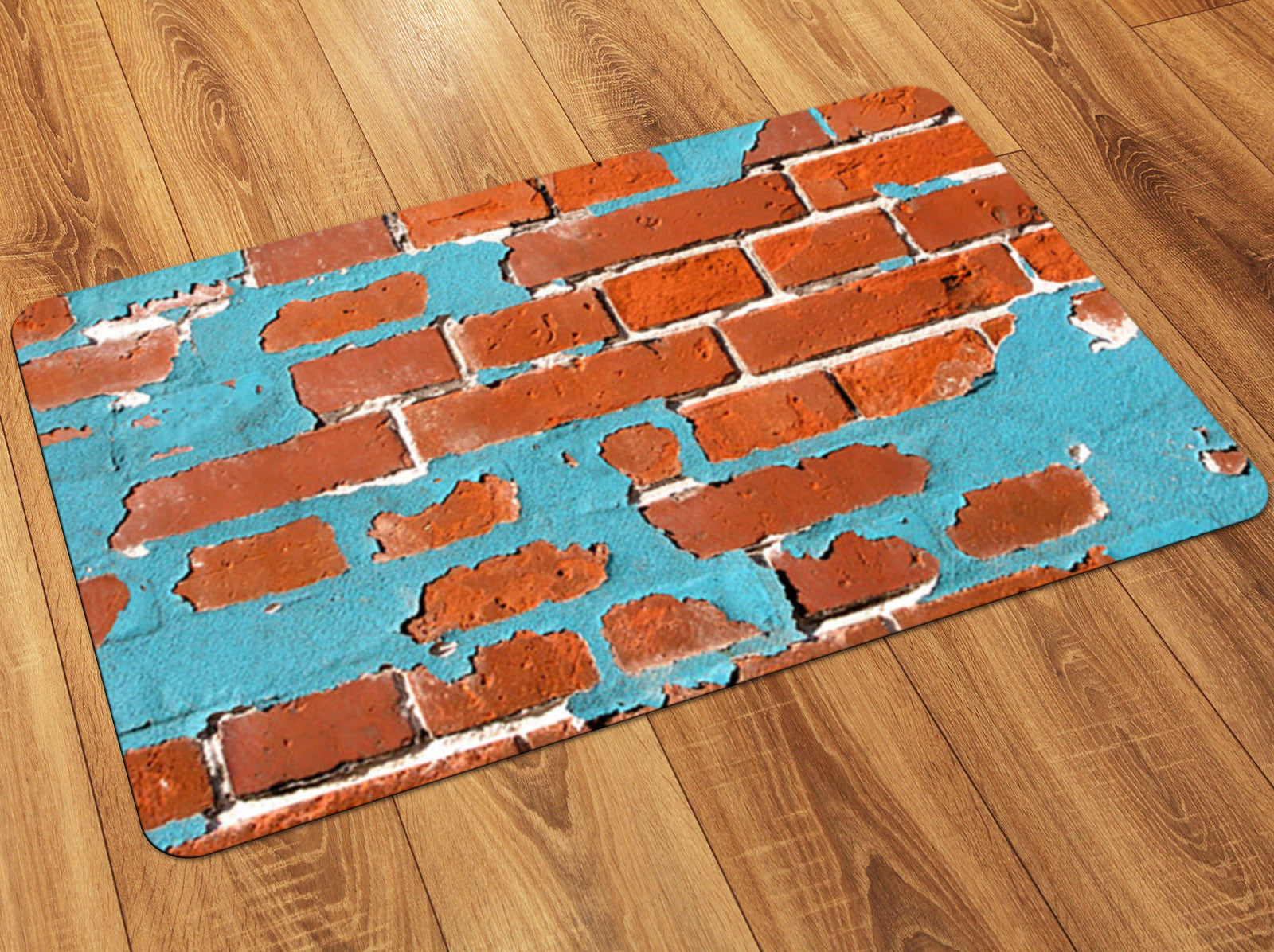Painted Brick FoFlor Accent Mats