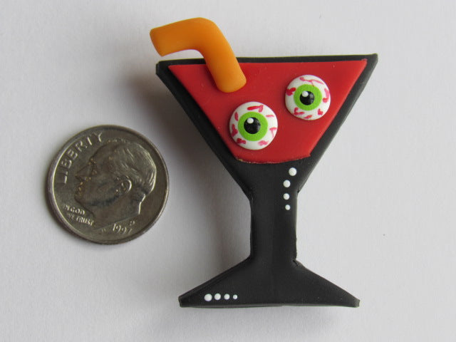 Needle Minder ~ Your Drink, Madam...  (Clay)  ONE OF A KIND!