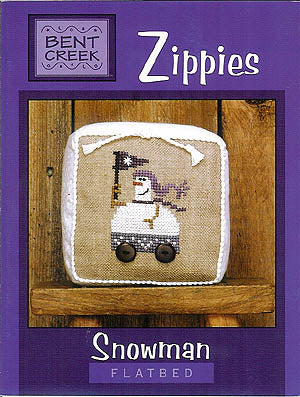 Bent Creek - Zippies - Snowman Flatbed  (Oldie But Goodie!)