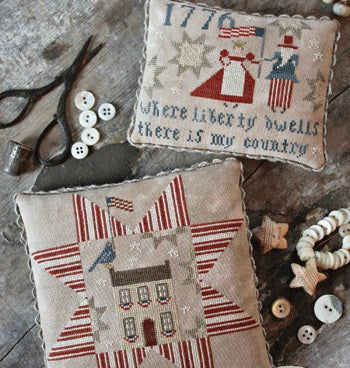 Country Stitches/With Thy Needle & Thread ~ Where Liberty Dwells