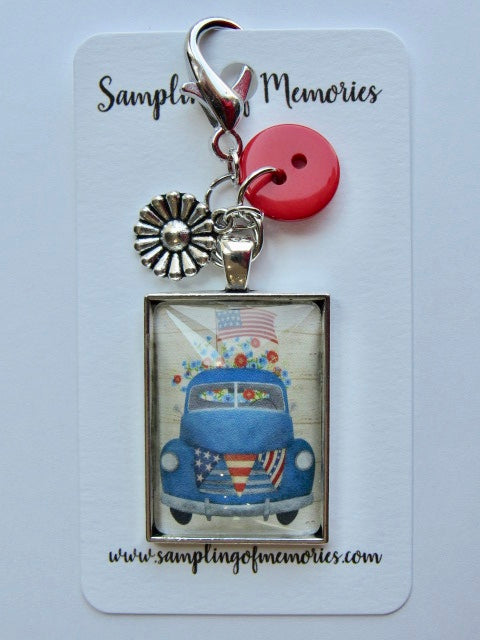 Sampling of Memories ~ Blue Truck Scissor Keep (VERY limited # available!)