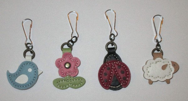 Leather Charm Fobs