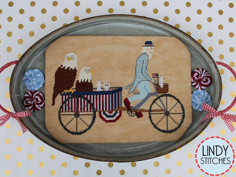 Lindy Stitches ~ Uncle Sam's Rickshaw