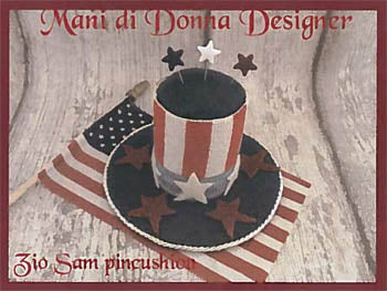 Mani di Donna ~ Zio (Uncle) Sam Pincushion