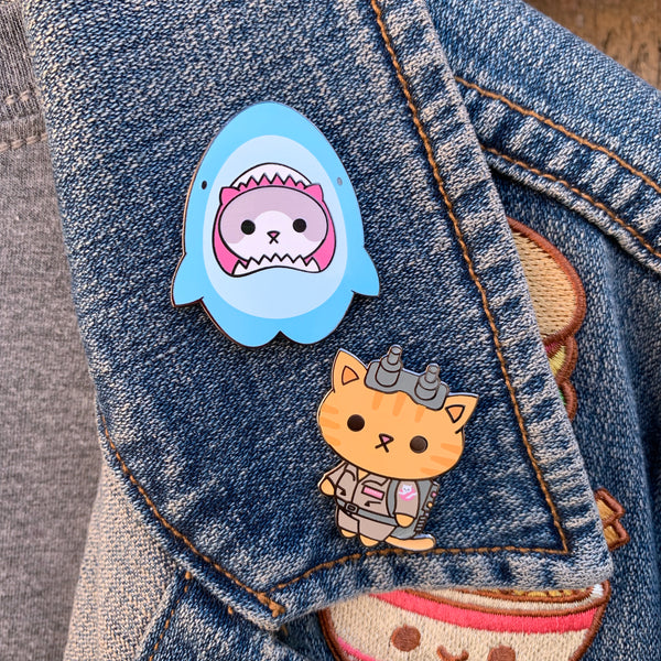 Kitty Cosplay Pins