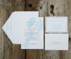 Blue Lobster Wedding Invitation