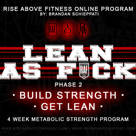 """LEAN AS FCK Phase 2"" Online Program"