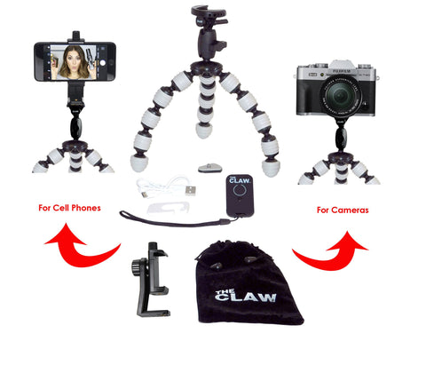 The CLAW® Large travel tripod - Grey