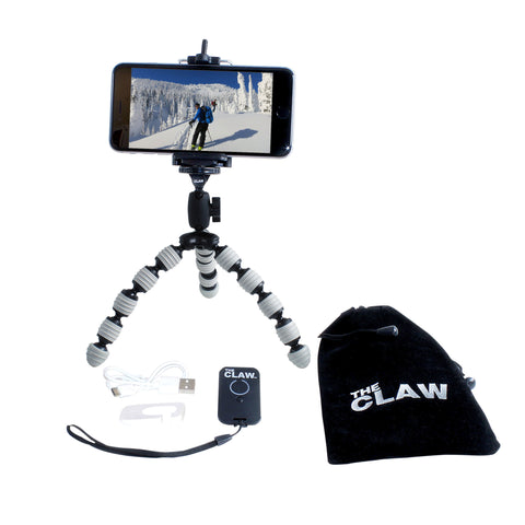 THE CLAW - flexible travel tripod from Record Peak Designs Inc.
