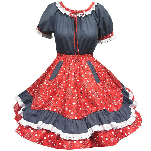Country Square Dance Outfit, Set - Square Up Fashions