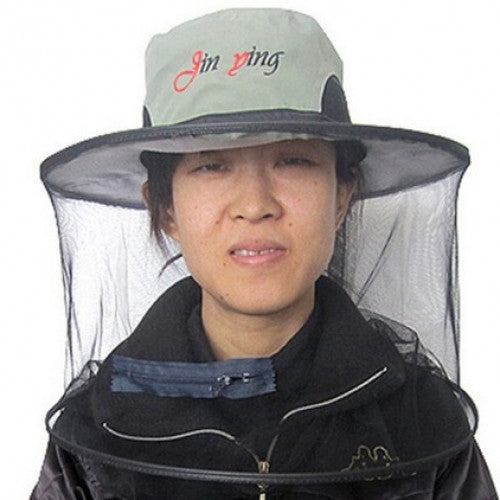 Fishing Hat With Net Bug Net Waterproof Fishing Hat